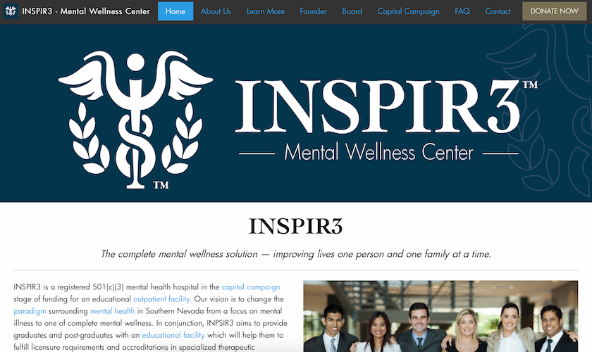 INSPIR3 Home Page